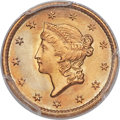 Gold Dollars, 1851 G$1 MS68 PCGS. CAC. Ex: Duckor / Akers. The 1...