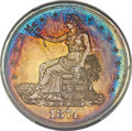 Proof Trade Dollars, 1874 T$1 Trade PR65+ Cameo PCGS. Ex: Simpson. The ...