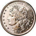 Patterns, 1878 $1 Goloid Metric Dollar, Judd-1563, Pollock-1754, Low R.6, PR65+ Cameo PCGS....