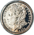 Patterns, 1879 10C Morgan Ten Cents, Judd-1588, Pollock-1781, High R.6, PR67 Deep Cameo PCGS....