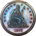 Patterns, 1870 25C Quarter Dollar, Judd-924, Pollock-1029, High R.7,...