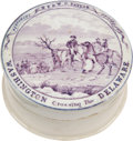 Political:3D & Other Display (pre-1896), George Washington: Soft-Paste Dental Cream Container....