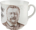 Political:3D & Other Display (1896-present), Theodore Roosevelt: Humorous Large Coffee Mug. ...