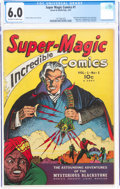 Golden Age (1938-1955):Adventure, Super Magic Comics #1 (Street & Smith, 1941) CGC FN 6.0 Off-white to white pages....