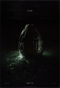 """Movie Posters:Science Fiction, Alien: Covenant & Other Lot (20th Century Fox, 2017). Rolled, Overall: Very Fine-. One Sheets (2) (27"""" X 40"""") DS Advance Sty... (Total: 2 Items)"""