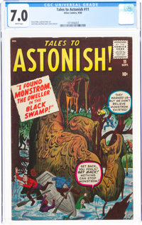 Tales to Astonish #11 (Marvel, 1960) CGC FN/VF 7.0 White pages
