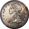 1836 50C Reeded Edge Half Dollar, Judd-57, Pollock-60, Low R.7 as a Proof, PR64 Cameo PCGS. CAC...(PCGS# 535183)