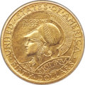 Commemorative Gold, 1915-S $50 Panama-Pacific 50 Dollar Round MS64 PCGS.