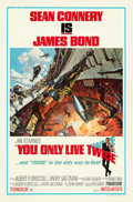 "Movie Posters:James Bond, You Only Live Twice (United Artists, 1967). Folded, Very Fine. One Sheet (27"" X 41"") Style A, Frank McCarthy and Robert McGi..."