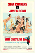 "Movie Posters:James Bond, You Only Live Twice (United Artists, 1967). Folded, Very Fine. One Sheet (27"" X 41"") Style C, Robert McGinnis Artwork.. ..."