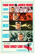 "Movie Posters:James Bond, You Only Live Twice (United Artists, 1967). Folded, Very Fine. One Sheet (27"" X 41"") Teaser Style A, Frank McCarthy and Robe..."