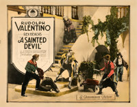"A Sainted Devil (Paramount, 1924). Rolled, Fine. Half Sheet (22"" X 28"")"