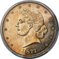 Patterns, 1877 50C Half Dollar, Judd-1540, Pollock-1711, High R.7, P...