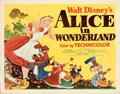 Movie Posters:Animation, Alice in Wonderland (RKO, 1951). Rolled, Very Fine-.