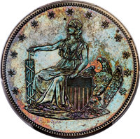 1859 P$20 Twenty Dollar, Judd-262, Pollock-307, Low R.7, PR65+ Brown PCGS....(PCGS# 12044)