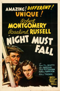 Movie Posters:Film Noir, Night Must Fall (MGM, 1937). Folded, Fine/Very Fine.