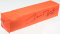 Football Collectibles:Others, Jerry Rice Signed Pylon....