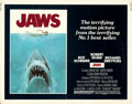 Movie Posters:Horror, Jaws (Universal, 1975). Folded, Fine/Very Fine. Ha...