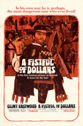 """Movie Posters:Western, A Fistful of Dollars (United Artists, 1967). Folded, Fine/Very Fine. One Sheet (27"""" X 41"""") Fred Otnes Artwork.. ..."""