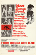 Movie Posters:James Bond, From Russia with Love (United Artists, 1964). Folded, Very...