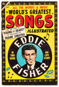 Golden Age (1938-1955):Miscellaneous, World's Greatest Songs #1 (Atlas, 1954) Condition: FN-....