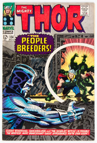 Thor #134 (Marvel, 1966) Condition: FN