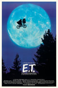 """Movie Posters:Science Fiction, E.T. The Extra-Terrestrial (Universal, 1982). Rolled, Near Mint-. One Sheet (26.75"""" X 40.5"""") Bicycle Style.. ..."""
