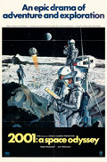 Movie Posters:Science Fiction, 2001: A Space Odyssey (MGM, 1968). Folded, Very Fine+....