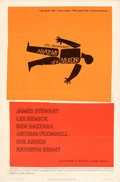 """Movie Posters:Crime, Anatomy of a Murder (Columbia, 1959). Folded, Very Fine-. One Sheet (27"""" X 41"""") Saul Bass Artwork.. ..."""