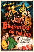 Movie Posters:Science Fiction, Beginning of the End (Republic, 1957). Folded, Very Fine+....