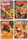 Pulps:Adventure, Jungle Stories Group of 12 (Fiction House, 1950-54) Condition: Average GD/VG.... (Total: 12 Items)