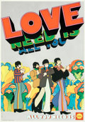 Movie Posters:Animation, Yellow Submarine (Shell Oil, 1969). Rolled, Very Fine.