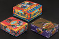 Basketball Cards:Unopened Packs/Display Boxes, 1991-92 and 1992-93 Fleer Basketball Unopened Box Lot of 3....