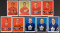 Hockey Cards:Lots, Signed/Unsigned 1964-65 Chex Cereal Hockey Photos Partial Set (21). ...