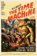 Movie Posters:Science Fiction, The Time Machine (MGM, 1960). Folded, Very Fine-. ...
