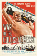 "Movie Posters:Science Fiction, War of the Colossal Beast (American International, 1958). Folded, Very Fine/Near Mint. One Sheet (27"" X 41"") Albert K..."