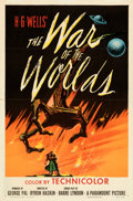 Movie Posters:Science Fiction, The War of the Worlds (Paramount, 1953). Folded, Very Fine...