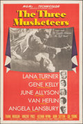 """Movie Posters:Swashbuckler, The Three Musketeers (MGM, 1948). Folded, Very Fine-. One Sheet (27"""" X 41"""") Style D. Swashbuckler.. ..."""