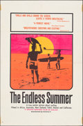 "Movie Posters:Sports, The Endless Summer (Cinema 5, 1966). Folded, Fine+. Silk Screen Day-Glo One Sheet (27"" X 41"") John Van Hamersveld Artwork. S..."