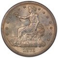 Trade Dollars, 1876-S T$1 MS62 PCGS. PCGS Population: (185/261 and 3/14+). NGC Census: (152/212 and 1/0+). CDN: $950 Whsle. Bid for NGC/PC...