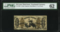Fractional Currency:Third Issue, Fr. 1350 50¢ Third Issue Justice PMG Uncirculated 62.. ...