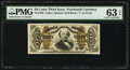 Fractional Currency:Third Issue, Fr. 1326 50¢ Third Issue Spinner PMG Choice Uncirculated 63 EPQ.. ...