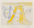 Prints & Multiples, Salvador Dali (1904-1989). Hommage a Dürer, from Hommage a Albrecht Dürer, 1972. Engraving in colors on wove paper. ...
