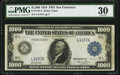 Large Size:Federal Reserve Notes, Fr. 1133-L $1,000 1918 Federal Reserve Note PMG Very Fine 30.. ...