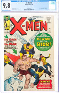 Silver Age (1956-1969):Superhero, X-Men #3 (Marvel, 1964) CGC NM/MT 9.8 White pages....