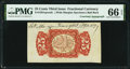 Fractional Currency:Third Issue, Fr. 1291SP 25¢ Third Issue Wide Margin Specimen Back with Morgan Courtesy Autograph PMG Gem Uncirculated 66 EPQ.. ...
