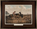Antiques:Posters & Prints, Western Expansion: Currier & Ives Large Folio Lithograph....