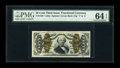 Fractional Currency:Third Issue, Fr. 1340 50c Third Issue Spinner Type II PMG Choice Uncirculated 64 EPQ....