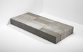Sculpture, Carl Andre (b. 1935). Merrymount, 1992. Quincy granite. 24 x 54 x 6 inches (61 x 137.2 x 15.2 cm). THE COLLECTION OF R... (Total: 12 Items)