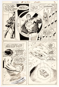 Curt Swan and Murphy Anderson Superman #253 Story Page 3 Original Art (DC, 1972)